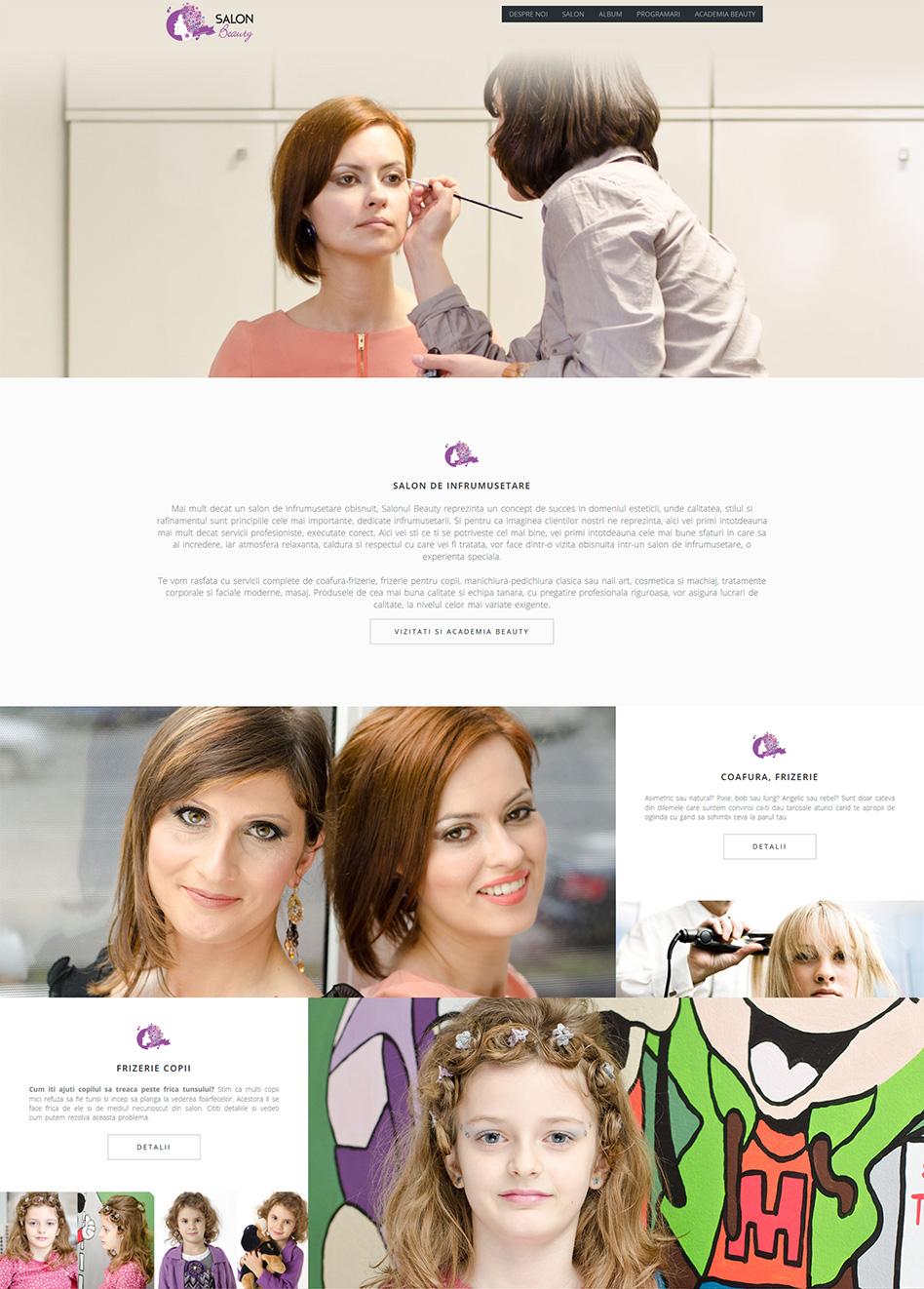 Realizare pagina web