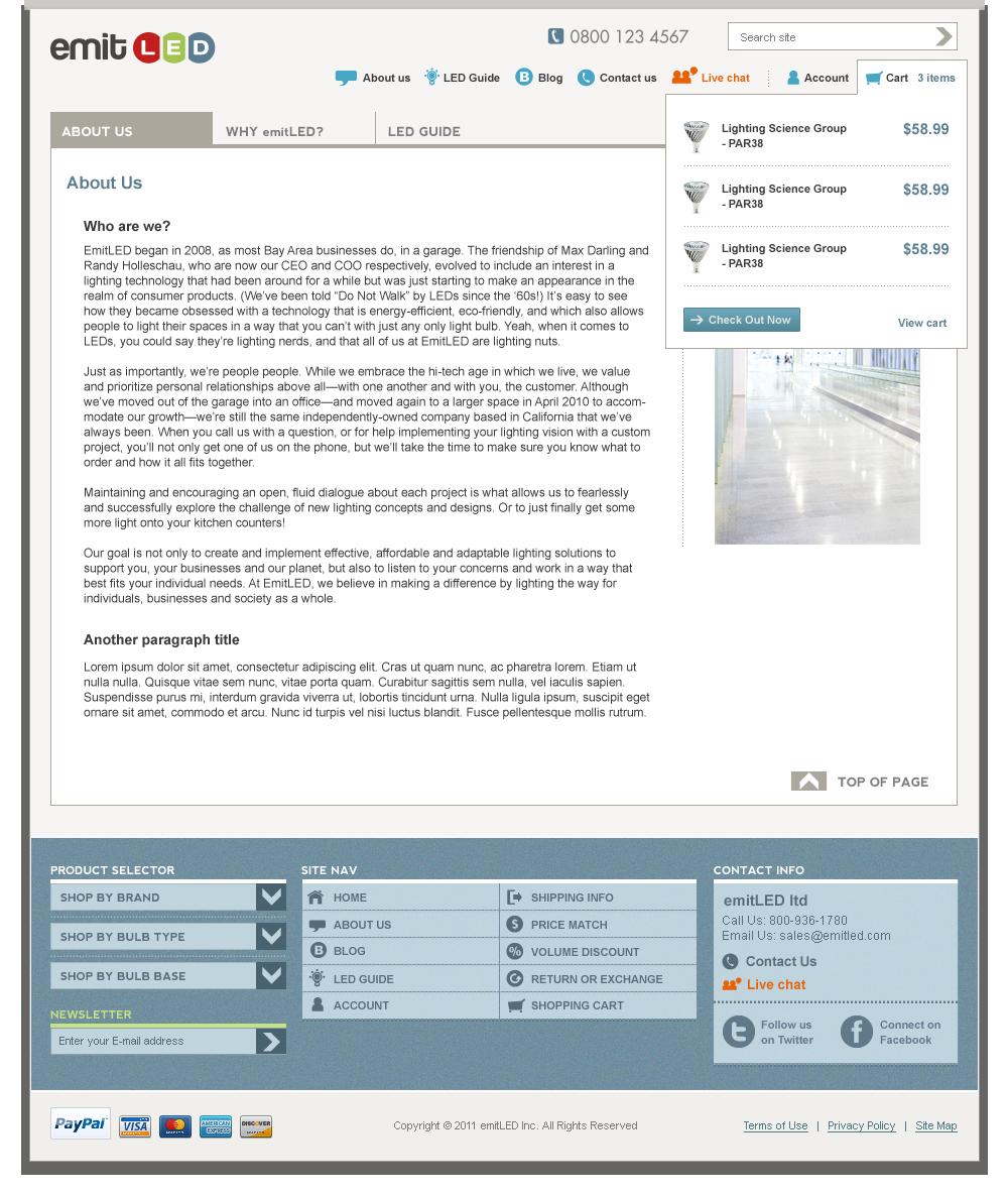 EML - Layout design