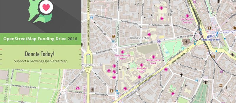 Using Open Street Map